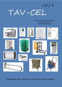 Dispensadores de papel higiénico secamanos industrial TAV CEL