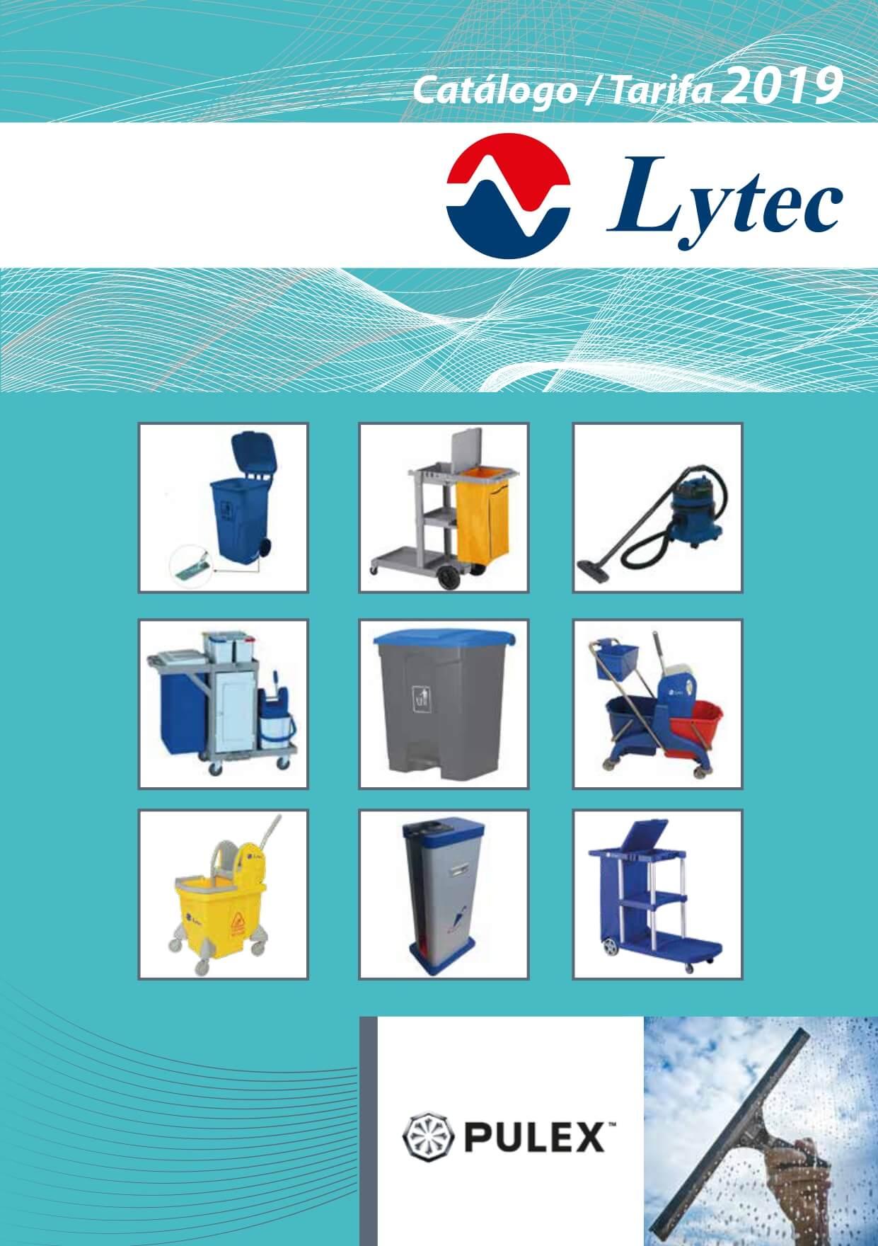 Catálogo de carros de limpieza Lytec