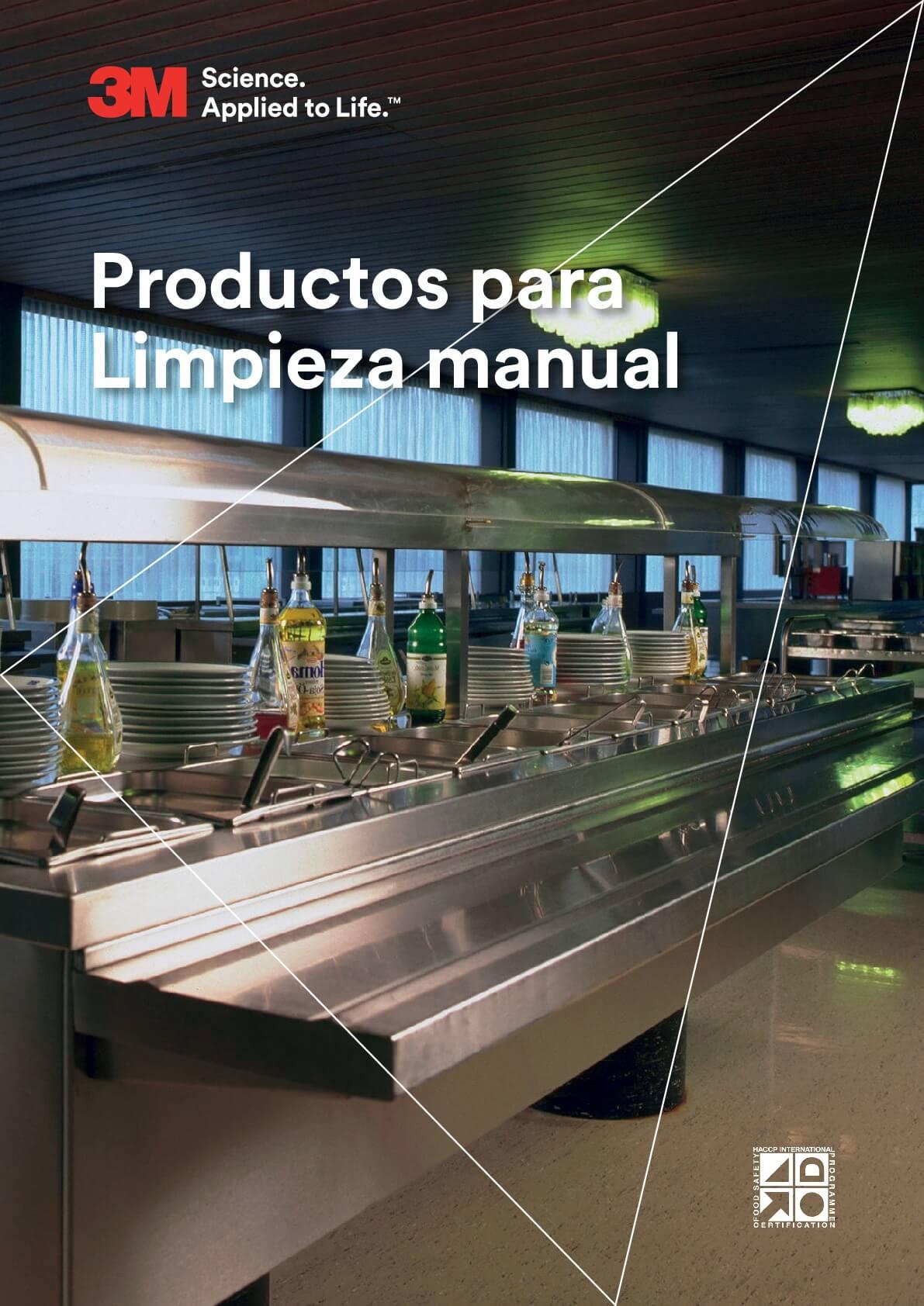 Productos de limpieza manual 3M